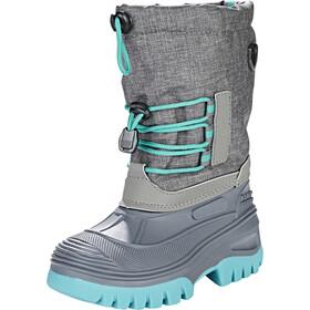 CMP Campagnolo Ahto WP Snow Boots Kids asphalt melange